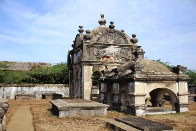 Cemetery Front View