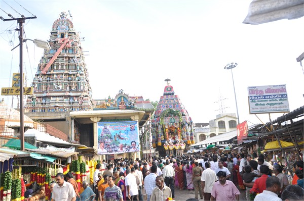 Karumariamman Temple Front Side
