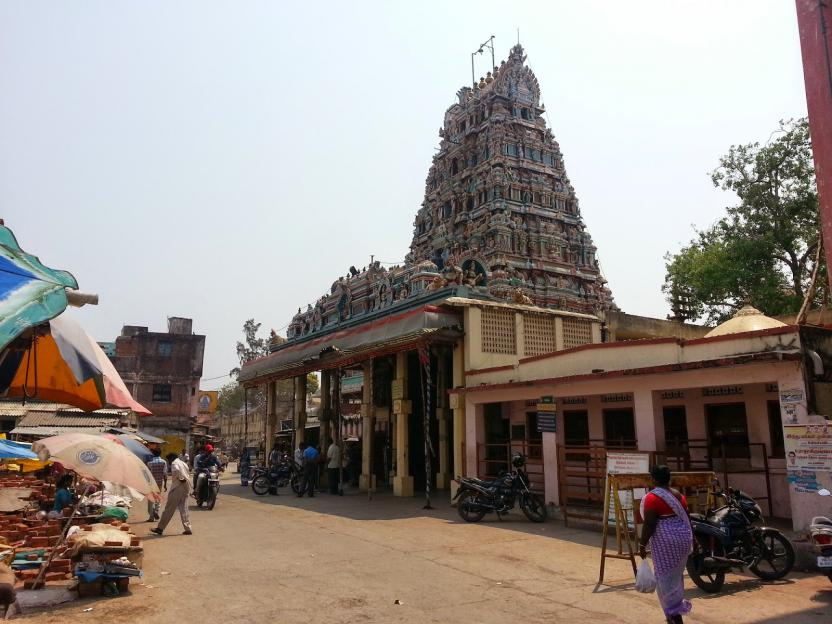 Karumariamman Temple Side View