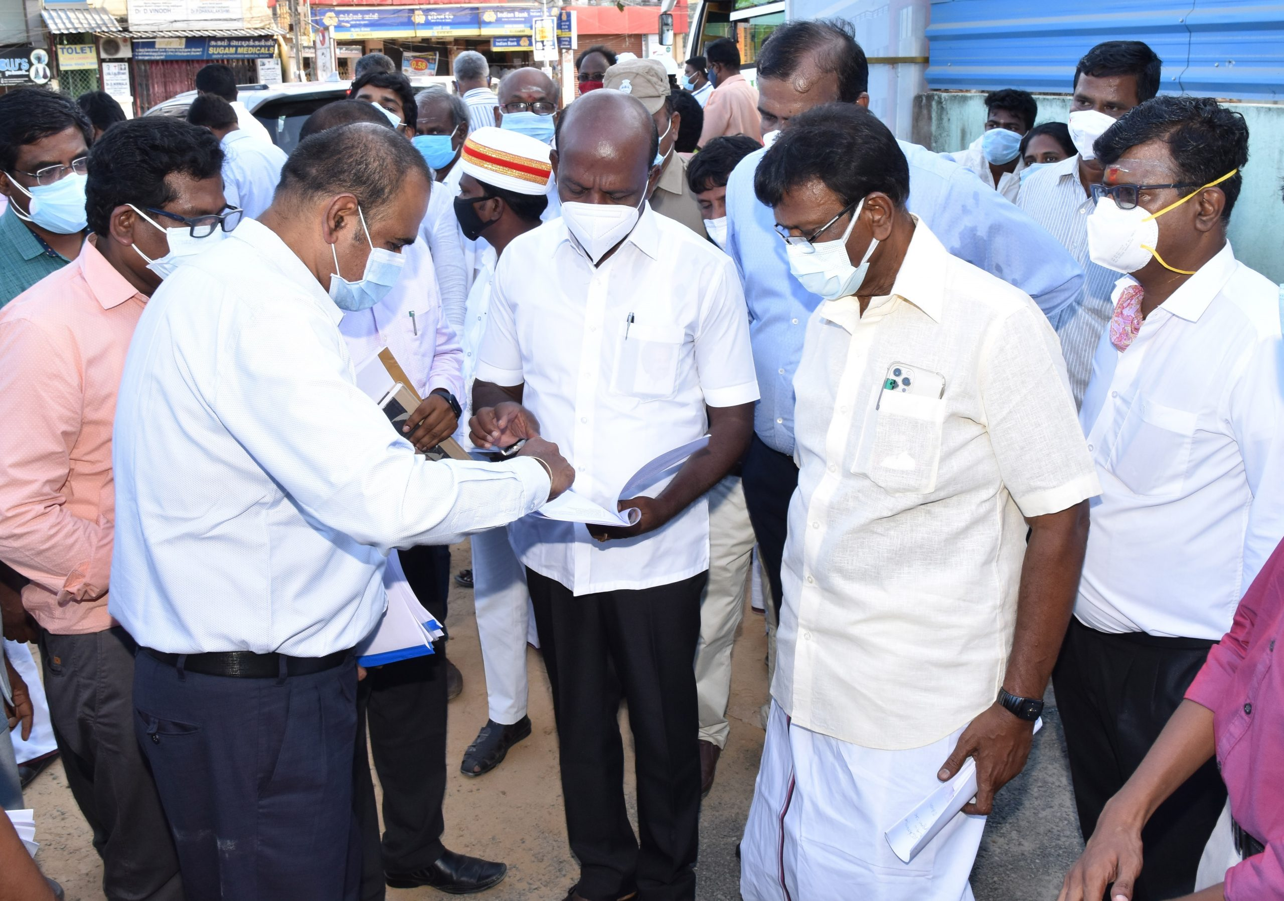 Hon'ble Ministers Inspection - II- 10.05.21