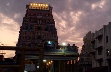 Veera Ragava Temple night view