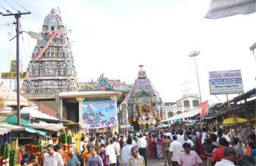 Karumariamman Temple Front Side
