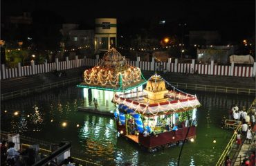 Karumariamman Temple Theppam Night View