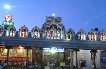Vadivudaiamman Temple Night View