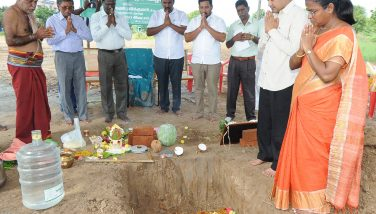 Stone Laying Ceremony for the New Building to keep EVMs and EVPATs on 29.11.2019