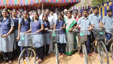 Distribution of Free Bicycles on 21.02.2020