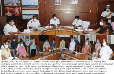 Corona Virus Preventive Measures Hon'ble Ministers' Review Meeting on 27.03.2020