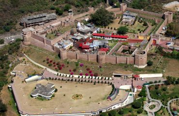 Bahu Fort Arial View