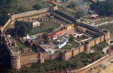 Bahu Fort Arial View Other side