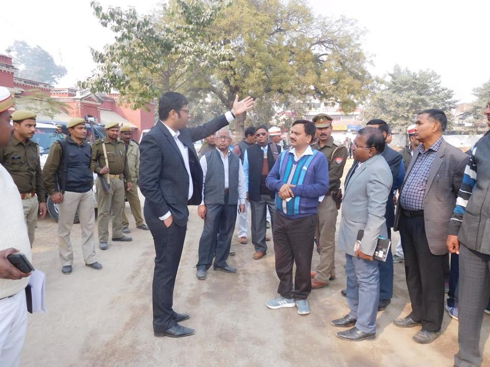 Inspection Before CM visit at GIC Deoria