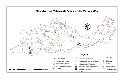 VULNERABLE AREA UNDER MARTAM BAC