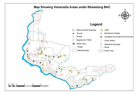 VULNERABLE AREA UNDER KHAMDONG BAC