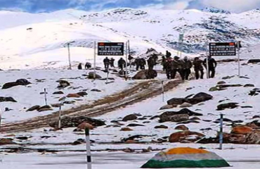 Bumla Pass,Is a Pass in The international border line that Divides india and china.