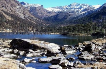 Sangetsar Lake Also known as The Madhuri Lake Named after a Bollywood Actress who made ashooting of a song of a bollywood movie in early 2000s, Tawang