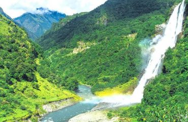 The Highest Waterfall of the District with a height of over 100 meters and there is a small hydel for local electricity power generatin purposes