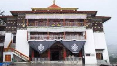 Tawang Monastery the second largest monastery in the world after potala palace in Tibet (China)