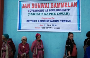 Jan Sammelan Sunwai At Mukto Tawang