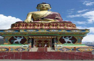 Lord Buddha Statue Tawang
