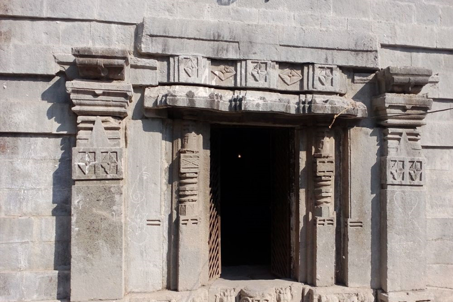 Temple Entrance at Chaarthana