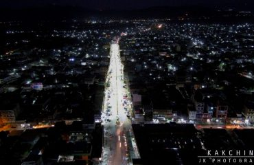Night View from Drone