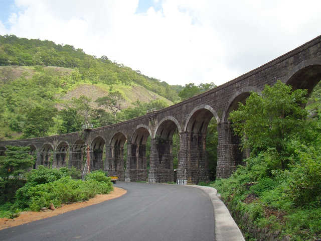 Thenmala Railway Bridge photo