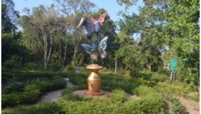 BUTTERFLY ECO-PARK statue
