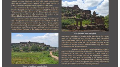 Meghuti Hill and Down Places in Aihole