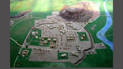 Model of monuments at ASI Museum in Aihole