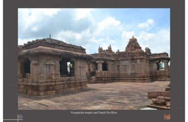 Virupaksha and Nandi Pavilion in Pattadkallu