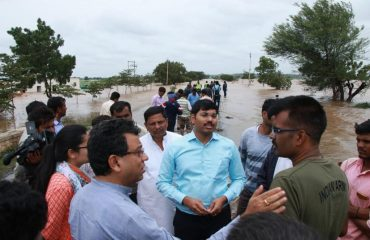 Vist of DC sir and In Charge secretary Tushar Girinath ro Nandagoan and other distrixts