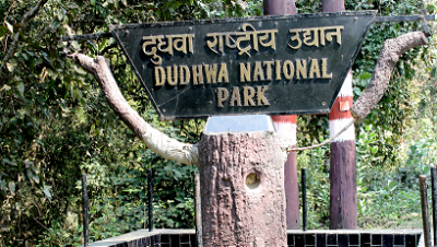 Dudhwa National Park Entrance Photo