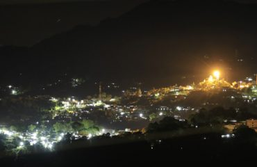 Tamenglong Town Night View