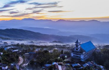 Winter View of Tamenglong DHQ