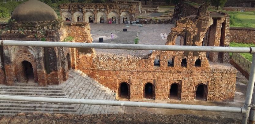Kotla Fort Side View