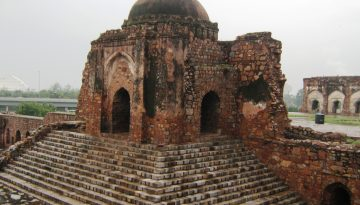 Kotla Fort Front View