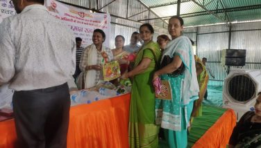 Felicitation of Women