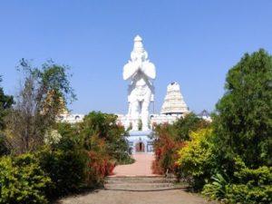 Image of Statue of Hanuman, Shri Balaji Temple, Buldhana