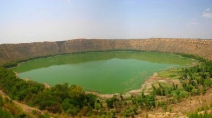 Image of View of Lonar Creater Lake