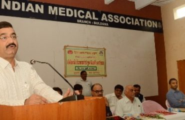 Image of Collector as speaker at Beti Bachao Beti Badao