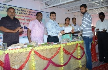 Image of Skill Development Appointment Letter Distribution by Collector