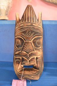 Carved_Mask from tree trunk