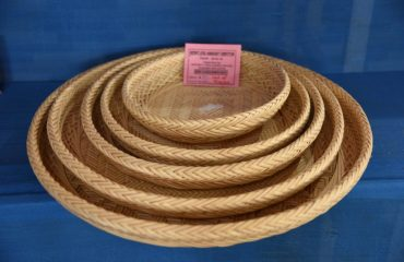 Handcrafted basket from_sabai grass
