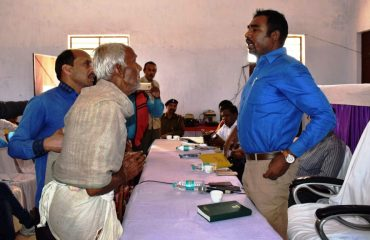 Interaction with Beneficiaries.