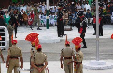 Indo Pak Retreat Ceremony Hussainiwala Border