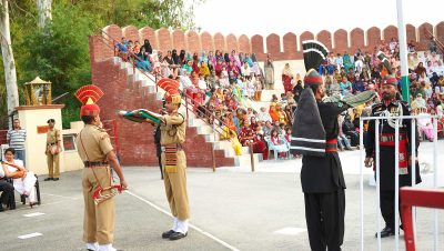 Indo-Pak Retreat Ceremony, Hussainiwala Border