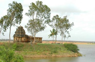 Bhimeshwara Temple Oustdie View