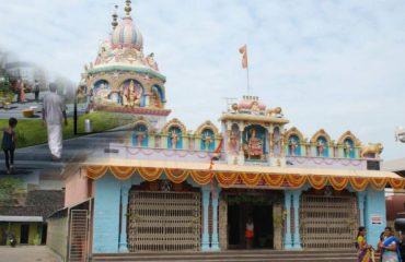 ದುರ್ಗಾಂಬಿಕಾ ದೇವಸ್ಥಾನ ಮುಂಭಾಗದ ನೋಟ ದಾವಣಗೆರೆ