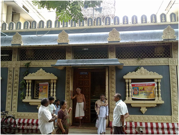 Enterance Ragavendraswamy temple