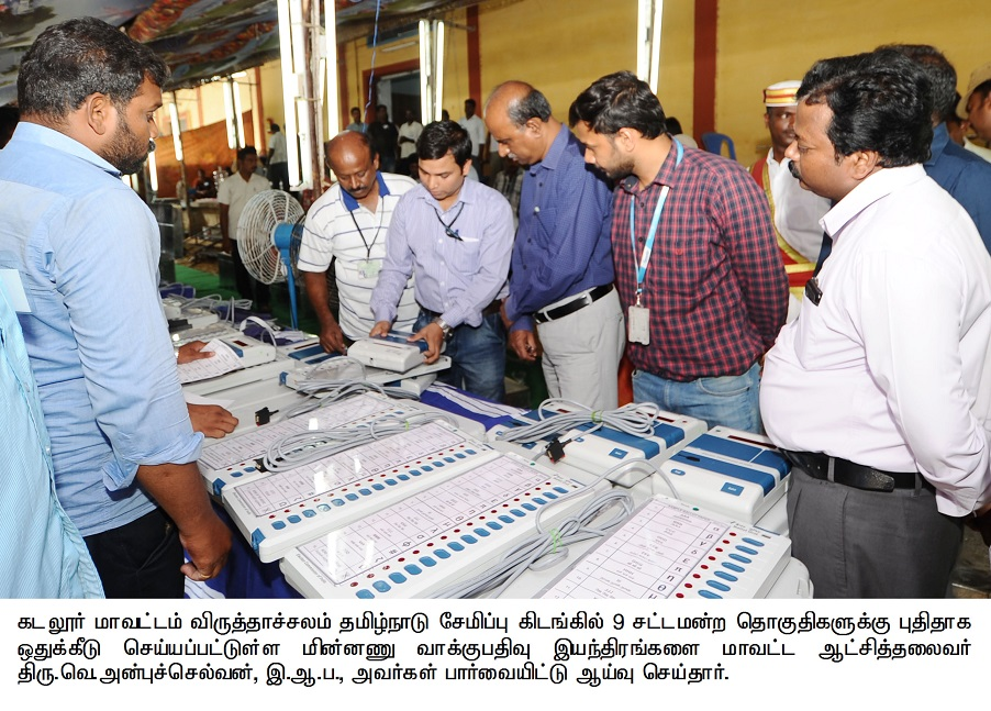 Collector Inspecting Electronic Voting meachines