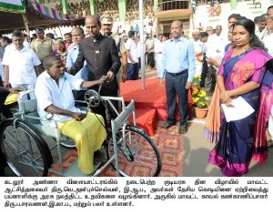 Aids to physicaly handicapped persons
